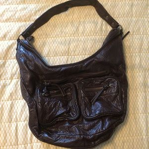 Brown, Leather Mossimo Purse